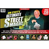 Jim Stott's 'Ultimate Street Magic Kit' Magic Set Featuring a Svengali Deck, Stripper Deck, Vanishing Kit, Magic Rubber Bands, 3 Shell Game, Levitation System, Videos and More!