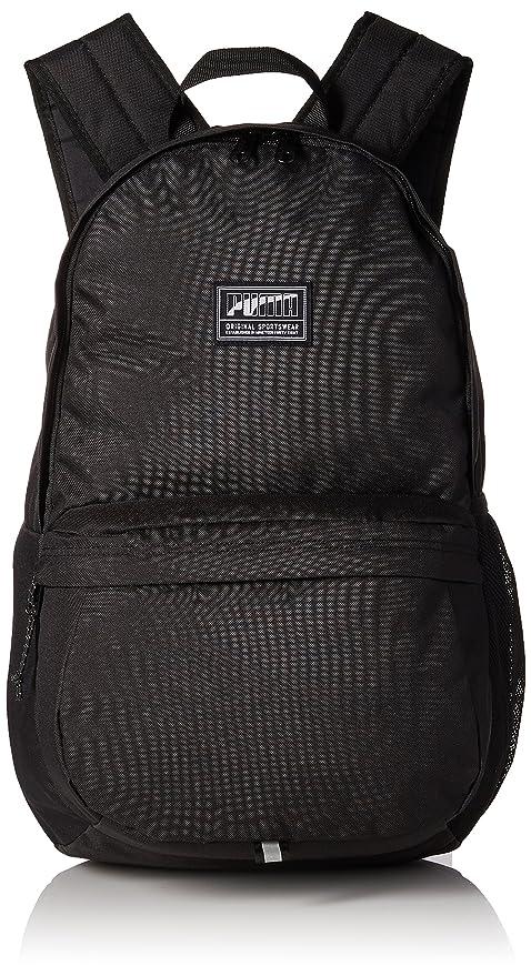 3fadcd296e Puma Black Laptop Backpack (7471901)  Amazon.in  Bags