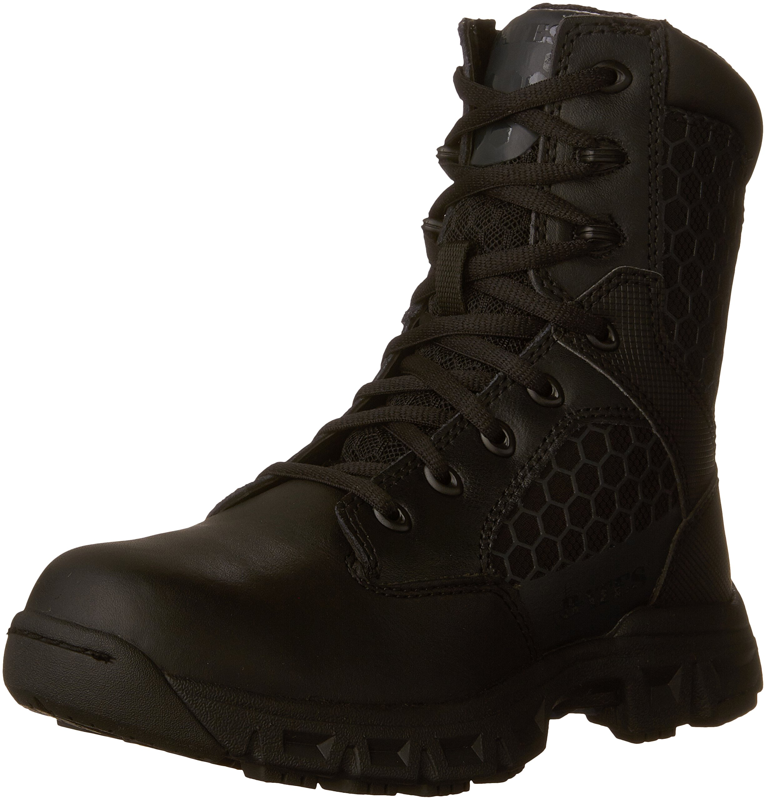 Bates Women's Code 6 Black 8 Inch Boot, Black, 10 M US