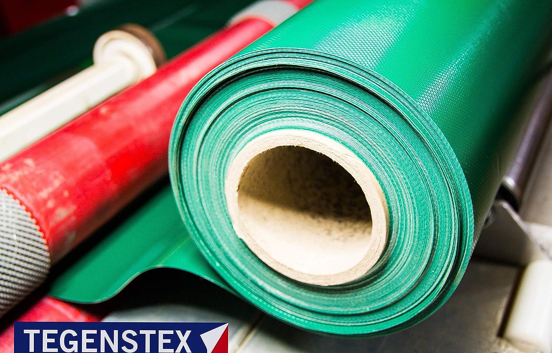 PVC PLANE 650g Verschiedene Farben MADE IN GERMANY 5,90/€-M2 4m x 2,50m, Hellgrau