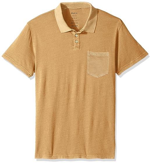 Amazon.com  RVCA Men s PTC Pigment Polo Shirt  Clothing 55b0c69d63