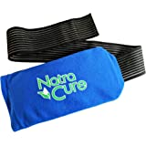 "NatraCure Universal Cold Pack Ice Wrap – 1 Gel Pack w/ 1 Sleeve - (5"" x 10"" Ice Pack Sleeve with 24"" nylon belt strap & 1 Gel Pack)"