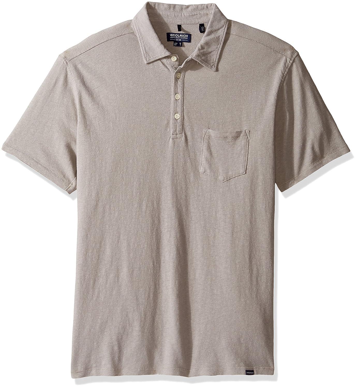Amazon Woolrich John Rich Bros Mens Cotton Linen Polo