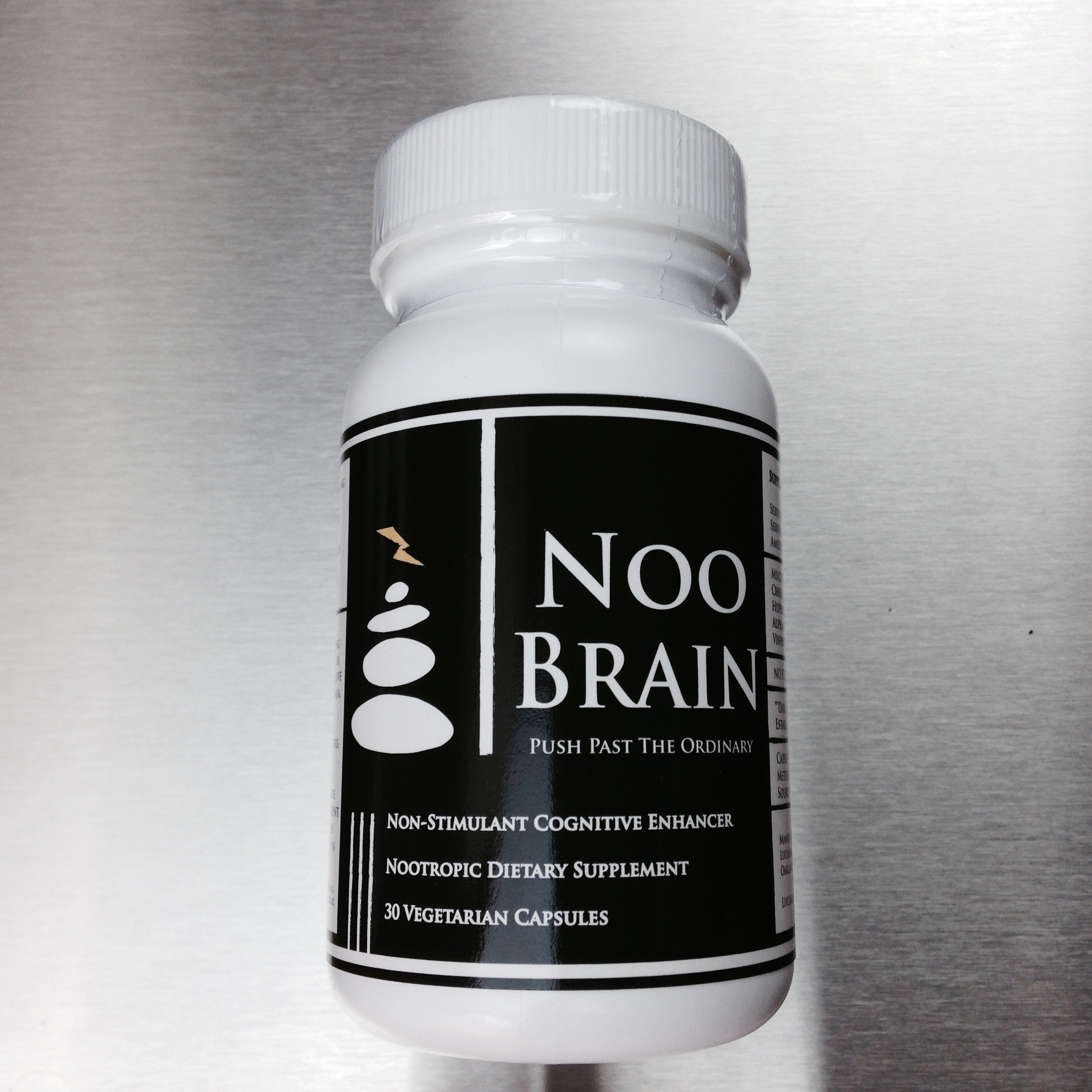 NOO BRAIN - Potent Nootropic Supplement Stack (with Mucuna, Huperzine A, Alpha GPC, Vinpocetine)