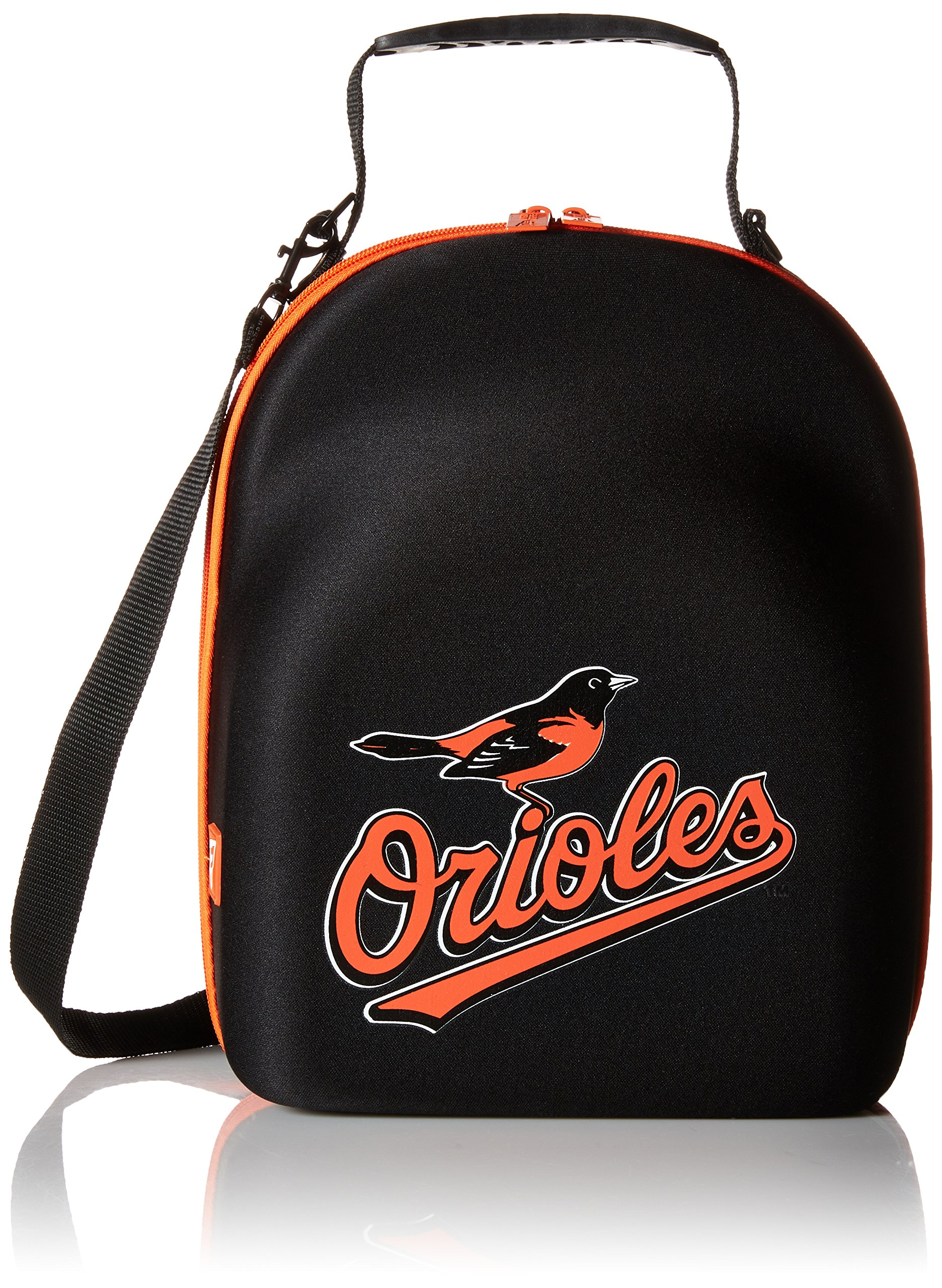 MLB Baltimore Orioles Cap Carrier (6 Pack), One Size, Black