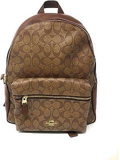 141d26a578 Amazon.com  Coach Mini Charlie Pebble Leather Backpack (SV Atlantic ...