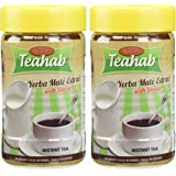 Made with 100% ORGANIC YERBA MATE INSTANT TEA - TEAHAB - (Sweetened with Stevia)