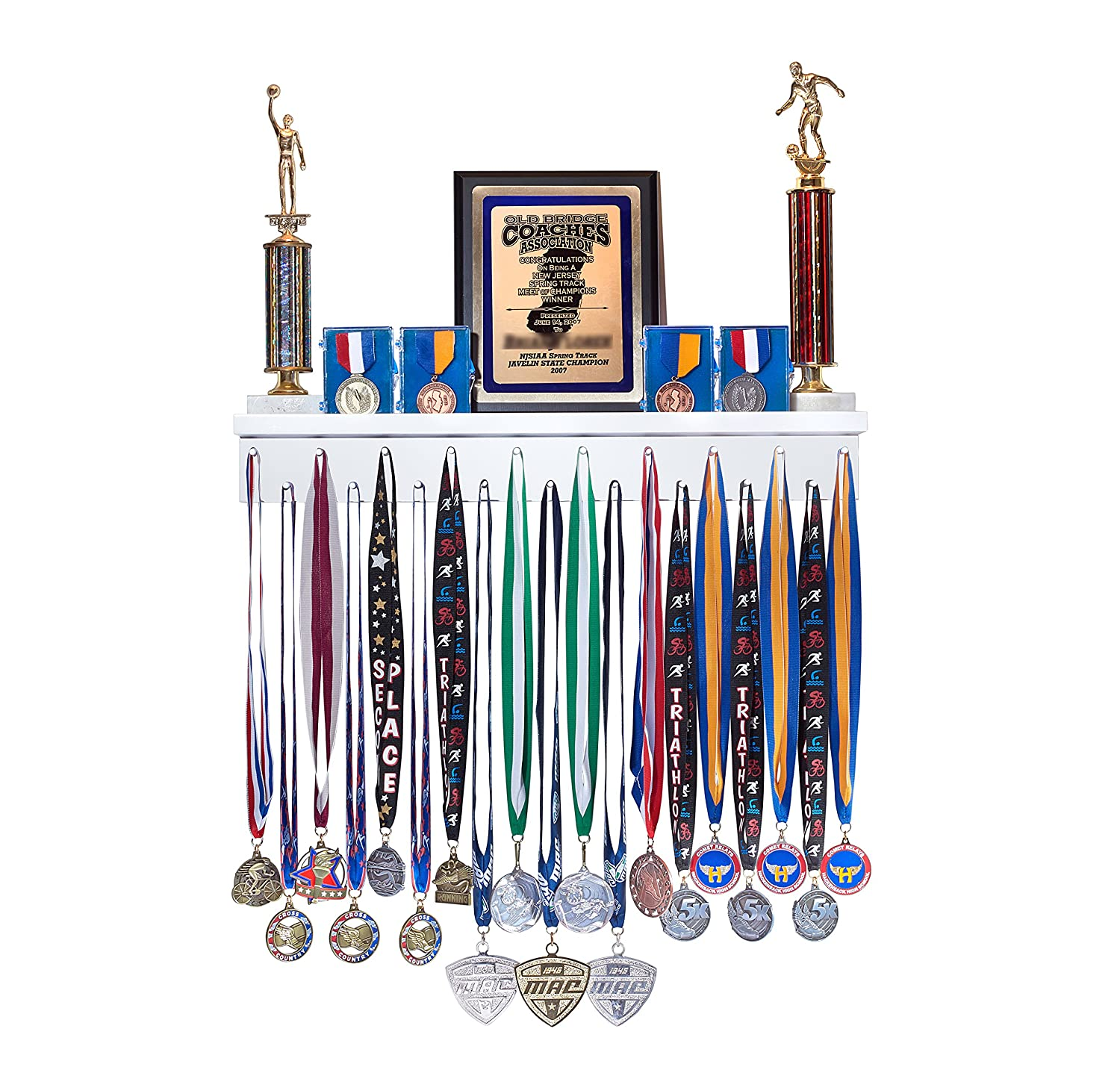 more pin lots medals trophies shelf some medal and my but of have still i