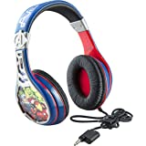Avengers Assemble Headphones for Kids with Built in Volume Limiting Feature for Kid Friendly Safe Listening