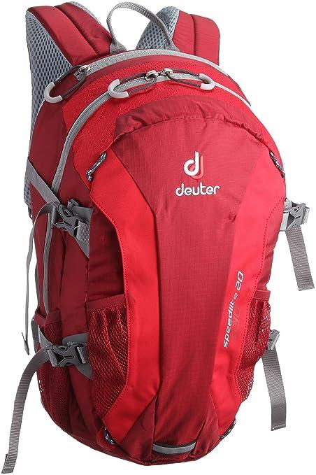 lagere prijs met fabriek authentiek officiële site Deuter Speed Lite 20 Alpine Rucksack, 48 x 26 x 18 (Cranberry Fire)