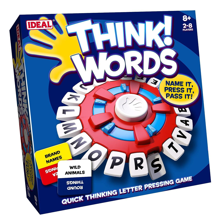 John Adams IDEAL Think Words Denken Wörter 2-8 Spieler ab 8 Jahren