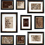 MCS  9pc Frame Set with Usable Artwork, Bronze Finish (49983)