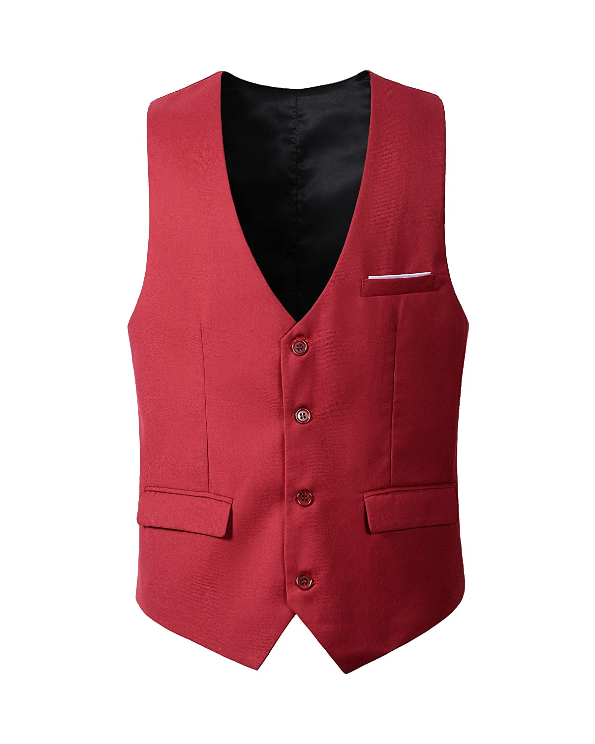 Benibos Men's Slim Fit Suit Vest
