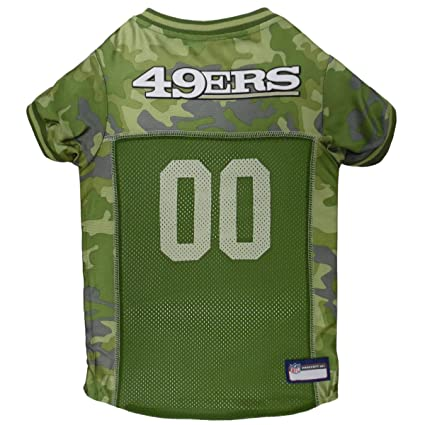 NFL CAMO Jersey for Dogs   Cats. Football Dog Jersey Camouflage Available  in 32 NFL Teams   5 Sizes. Cuttest Hunting Dog Dress! Camouflage Pet Jersey  with ... 48ca32a05