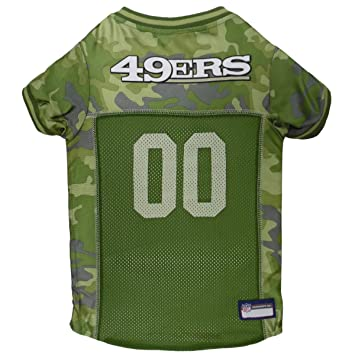 sports shoes af8d6 8299d NFL CAMO Jersey for Dogs & Cats. Football Dog Jersey Camouflage Available  in 32 NFL Teams & 5 Sizes. Cuttest Hunting Dog Dress! Camouflage Pet Jersey  ...