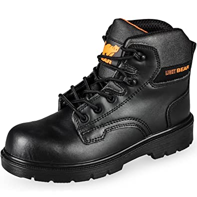 premium selection 05544 b3e4c Ultra Lightweight Steel Toe Cap Black Safety Boots Kevlar Midsole Heavy  Duty S3 Protection