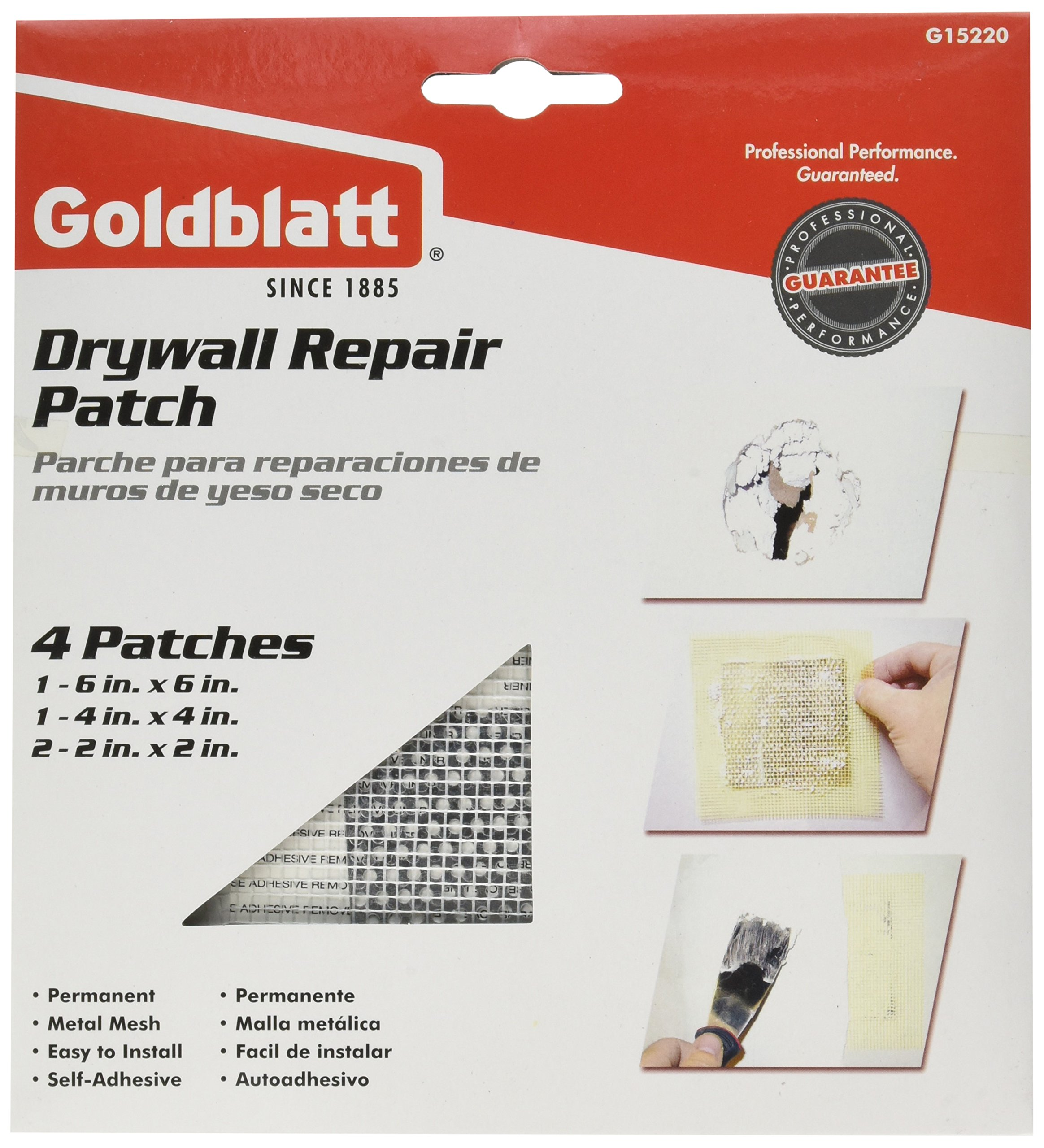 PaceSetter G15220 Assorted Drywall Repair Patch Pack