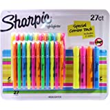 Sharpie Highlighters Special Combo Pack, Includes 2 Sizes, 27 Count