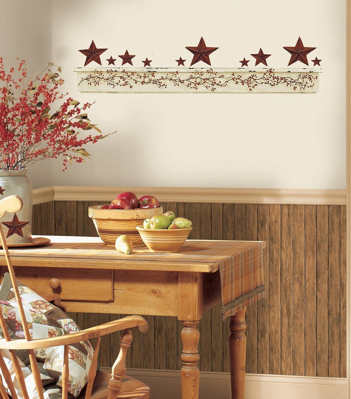 ROOMMATES RMK1571GM Primitive Arch Peel U0026 Stick Wall Decals   Decorative  Wall Appliques   Amazon.com