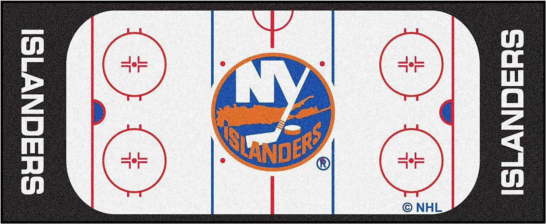 FANMATS NHL New York Islanders Nylon Face Football Field Runner