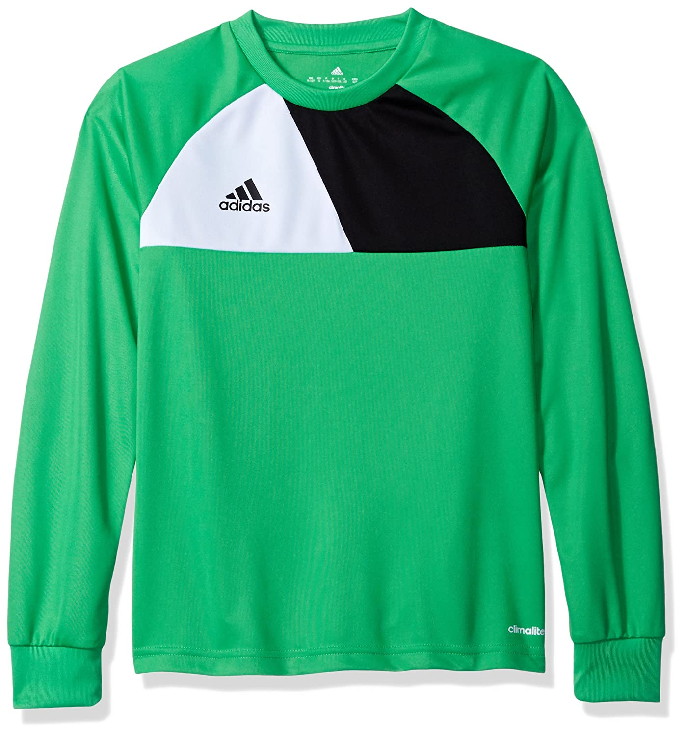 706c7c73b Command attention on and off the pitch in this junior Boys\' football  Goalkeeper jersey. It\'s made with soft, moisture-wicking fabric for dry  comfort.