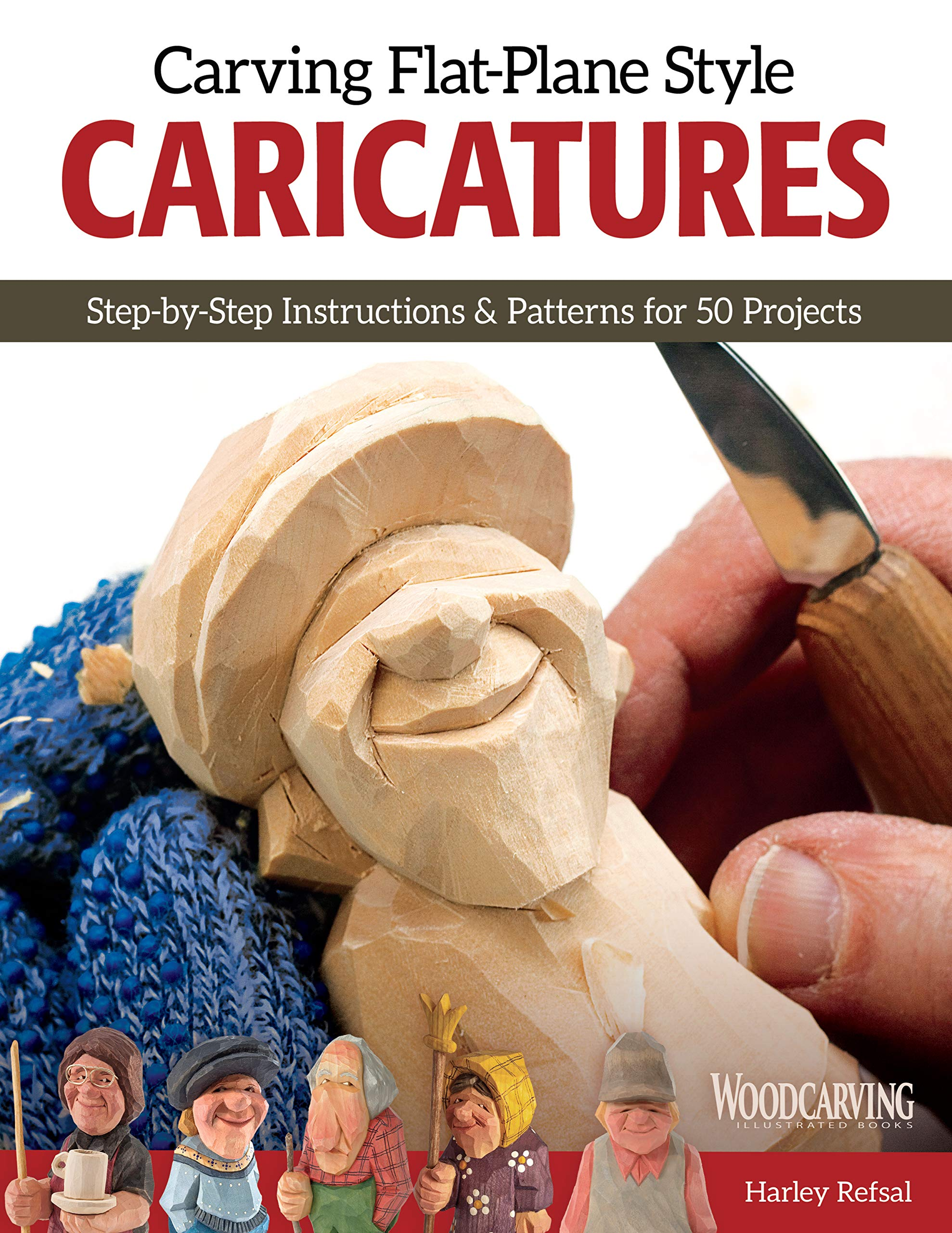 Read Online Carving Flat-Plane Style Caricatures PDF
