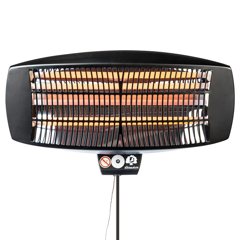 Ultranatura Calefactor Eléctrico de 2100 W de Pie o para Montar a la Pared - Termoventilador Compacto con 3 Niveles de Potencia con Calefacción Ajustable, ...