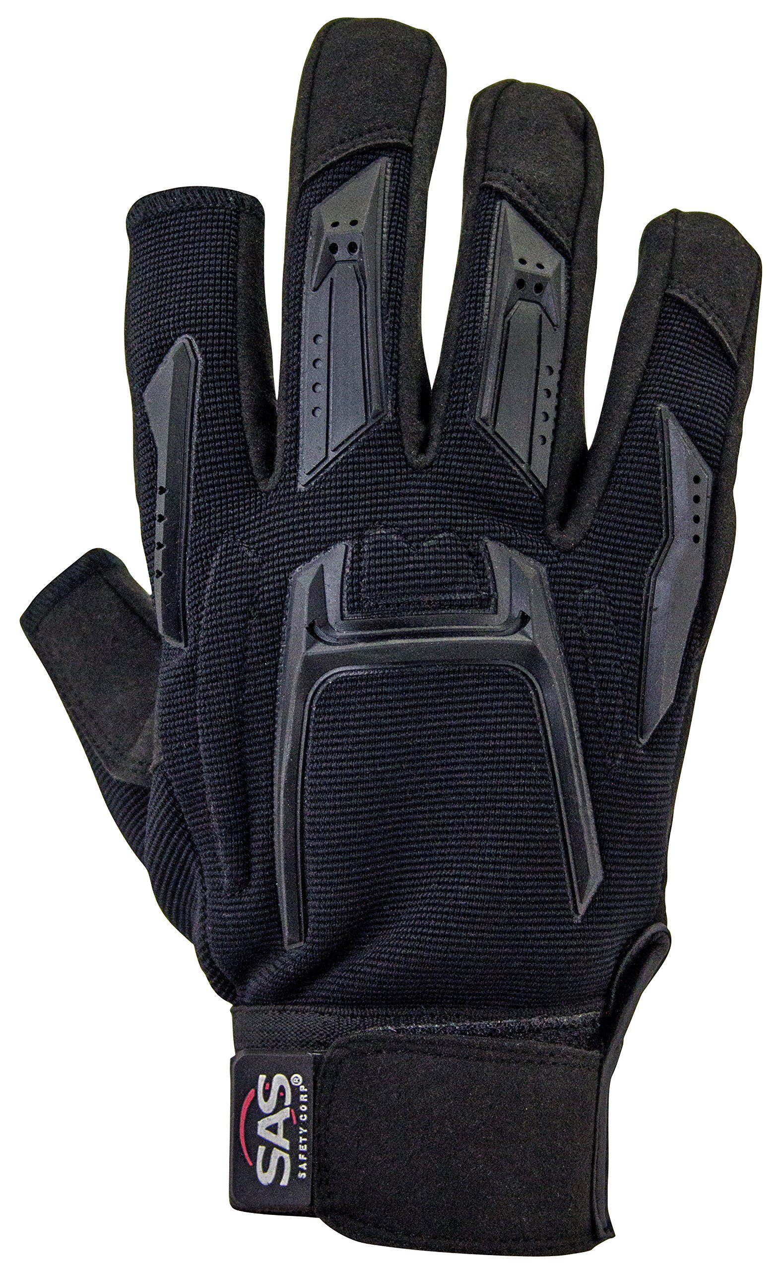 SAS Safety Corp. 6724-23 SAS Safety MX Impact Resistant Glove with Cut-Thumb and Index Finger, Large