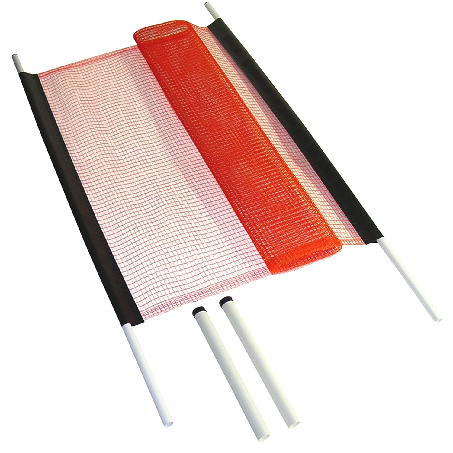 18; Driveway Safety; Child Safety; Outdoor Play; Childproof; Made in USA Kidkusion Non Retractable Driveway Safety Net Orange