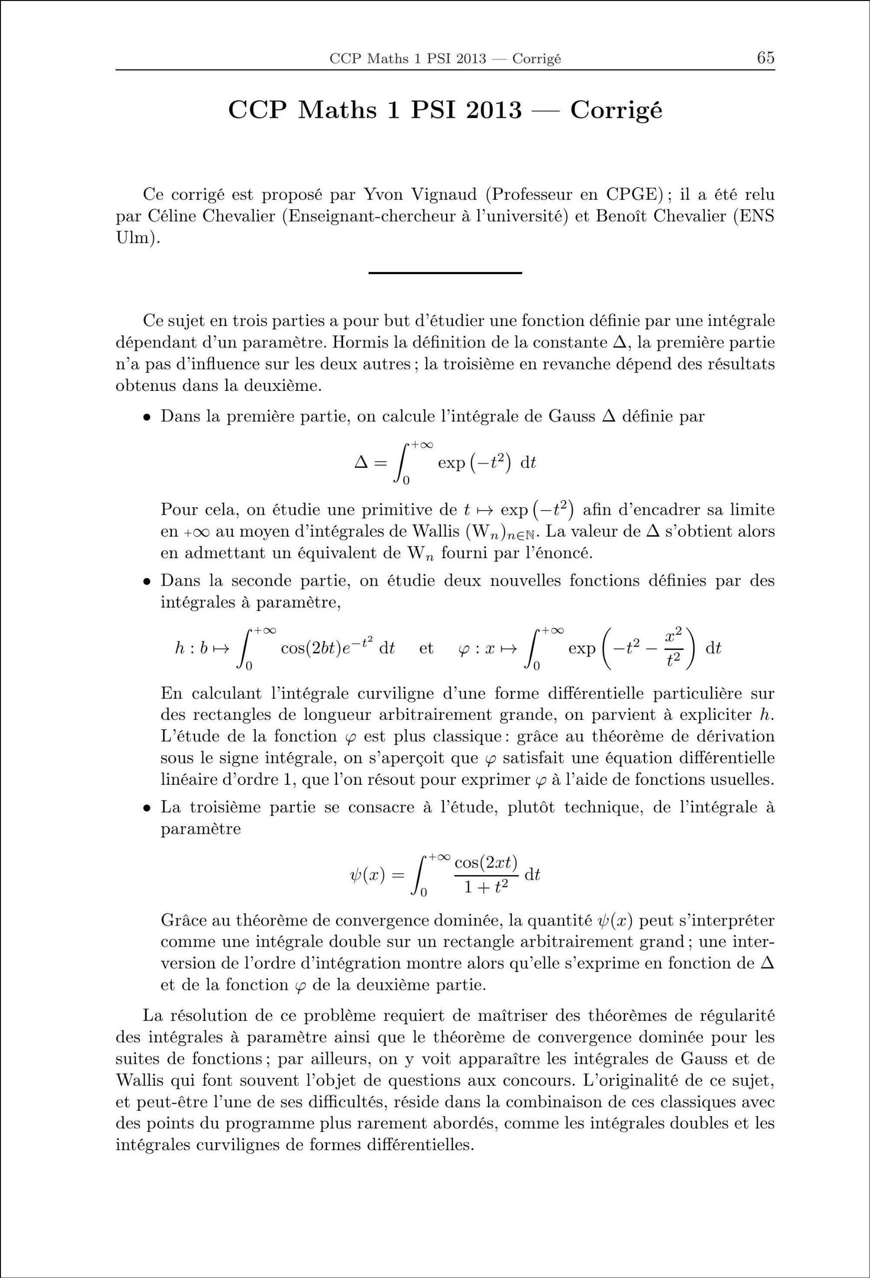PSI mathématiques : Annales corrigées des problèmes posés aux concours 2013, E3A, CCP, Centrale/Supélec, Mines/Ponts Annales des concours: Amazon.es: ...