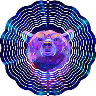 """product image for Next Innovations 101408001-Indigobear Wind Spinner, 10"""" Diameter, Multicolor"""