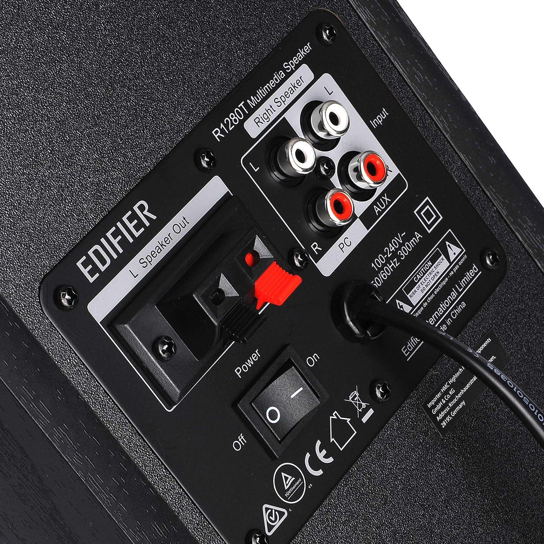 Edifier Studio R1280T 2.0 - Caja Activa, Color Negro: Amazon.es ...