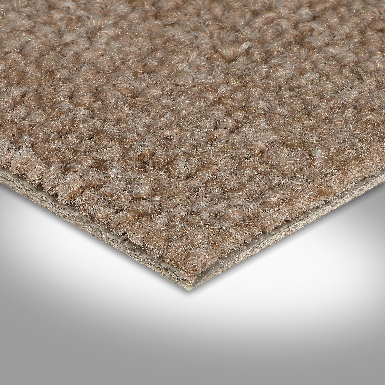 Variante Verschiedene L/ängen BODENMEISTER BM72051/_beige/_550x400 Teppichboden Auslegware Meterware Schlinge 400 cm und 500 cm breit 5,5x4m