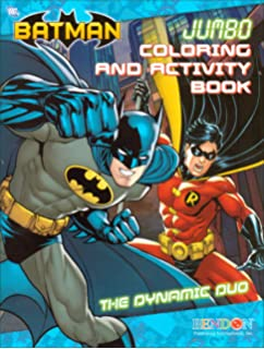 Batman Jumbo Coloring And Activity Book