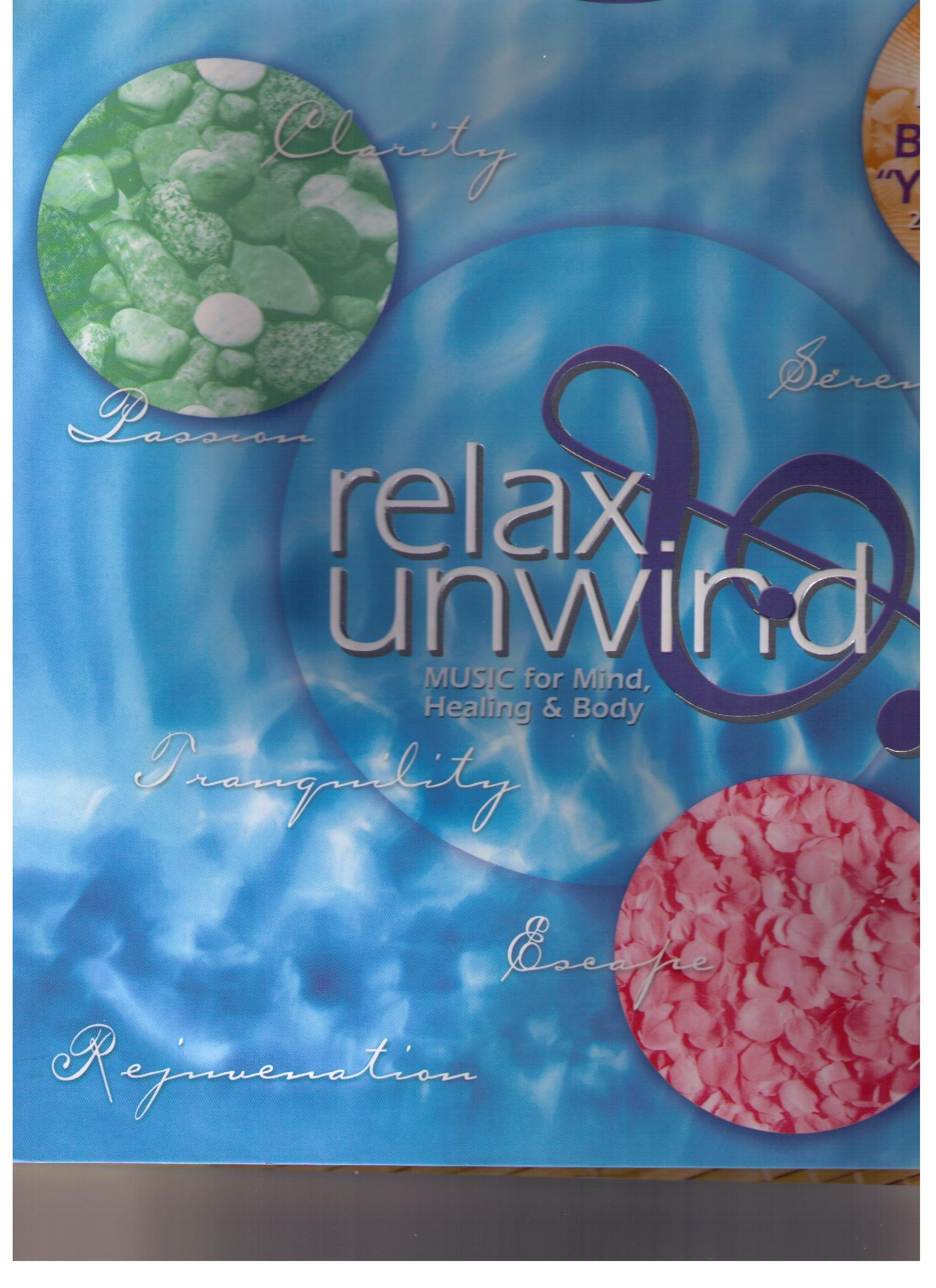 Relax & Unwind-music for Mind, Healing & Body (3 Music CDs ...
