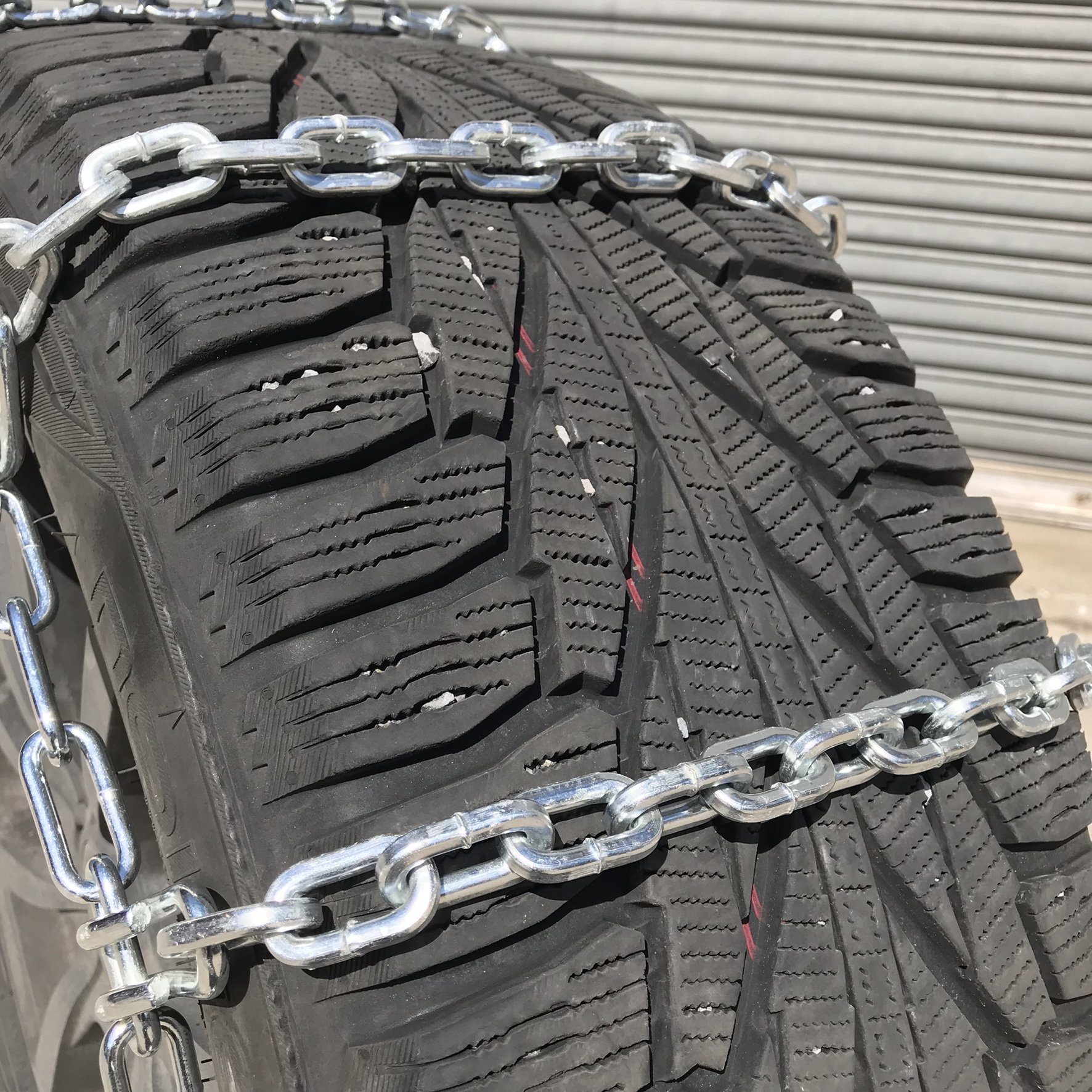 TireChain.com 2229sq Square Straight Link Truck Tire Chains with Cams, priced per pair by TireChain.com (Image #3)