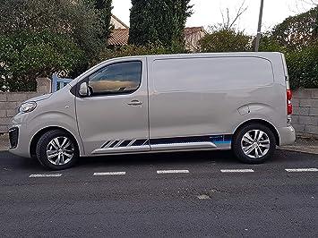 Mxspirit Zierstreifen Covering Für Peugeot Expert Traveller 2016 2017 2018 2019 2020 Hohe Widerstandsfähigkeit 2 Sticker Marketplace Avenue Auto