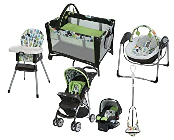 3d1597951e6c Amazon.com   Graco Bear Trail Collection (Travel System