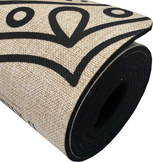 Amazon.com: SATTVA - Esterilla de yoga orgánica de cáñamo de ...