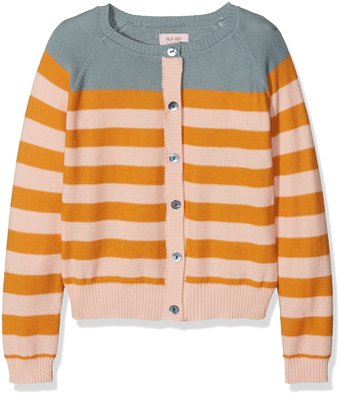 Noa Noa Girl's Mini Basic Cotton Melange Cardigan NOA NOA MINIATURE 2-4046-1
