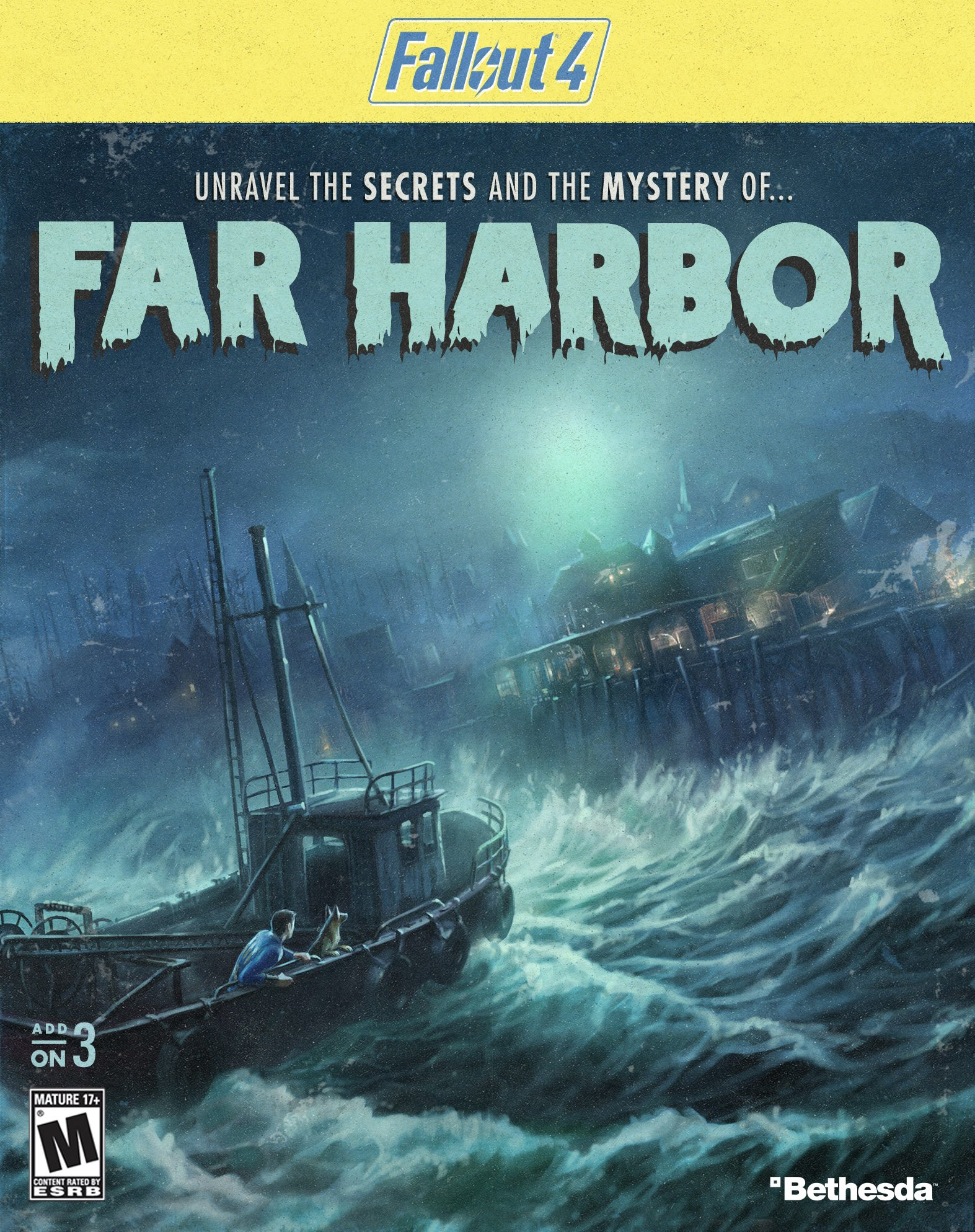 Fallout 4: Far Harbor [Online Game Code]