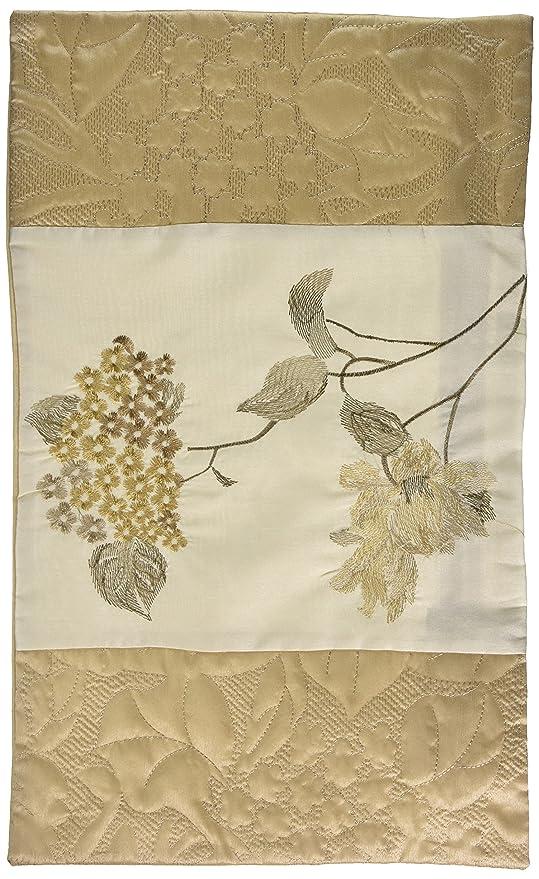 Just Contempo Funda de cojín Floral, Color Beige, 30,5 x 50 ...