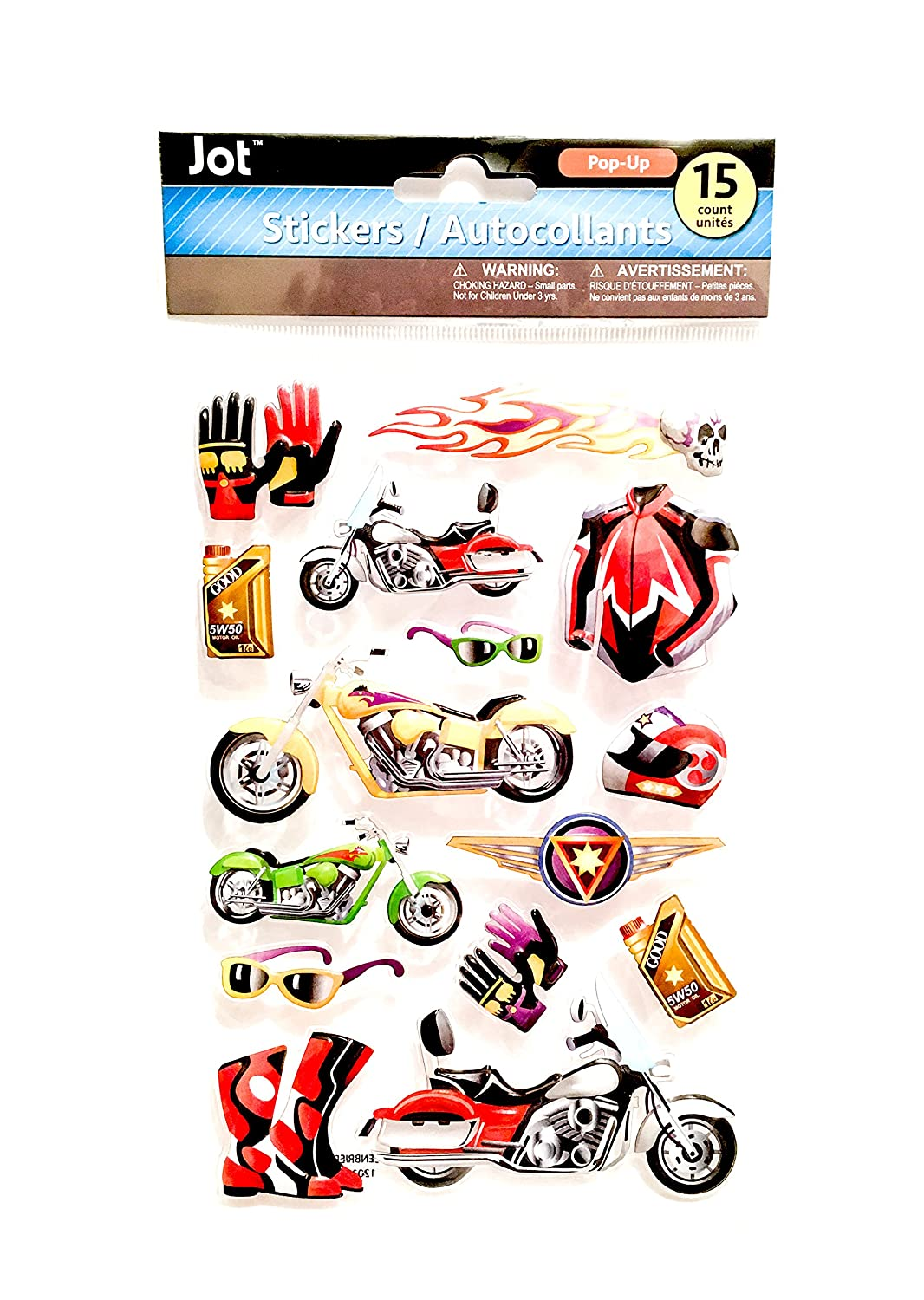 Amazon com motorcycle stickers motorcycles themed stickers bike stickers sports stickers pop up stickers automotive