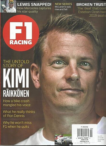 Amazon com : F1 RACING MAGAZINE, THE UNTOLD STORY OF KIMI RAIKKONEN