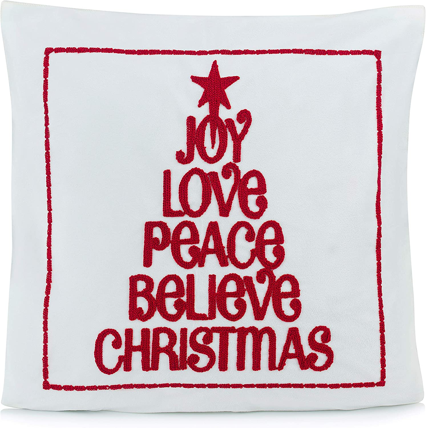 christmas cushion covers One Supplied No Insert Included
