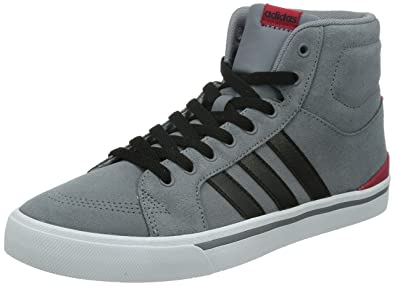 f468a8daa02034 Adidas NEO PARK ST MID Grey CBlack Powred