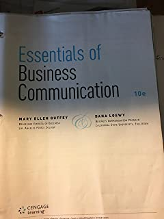 Essentials of business communication with premium website 1 term mary ellen guffey cd rom 13295 essentials of business communication tenth edition fandeluxe Image collections