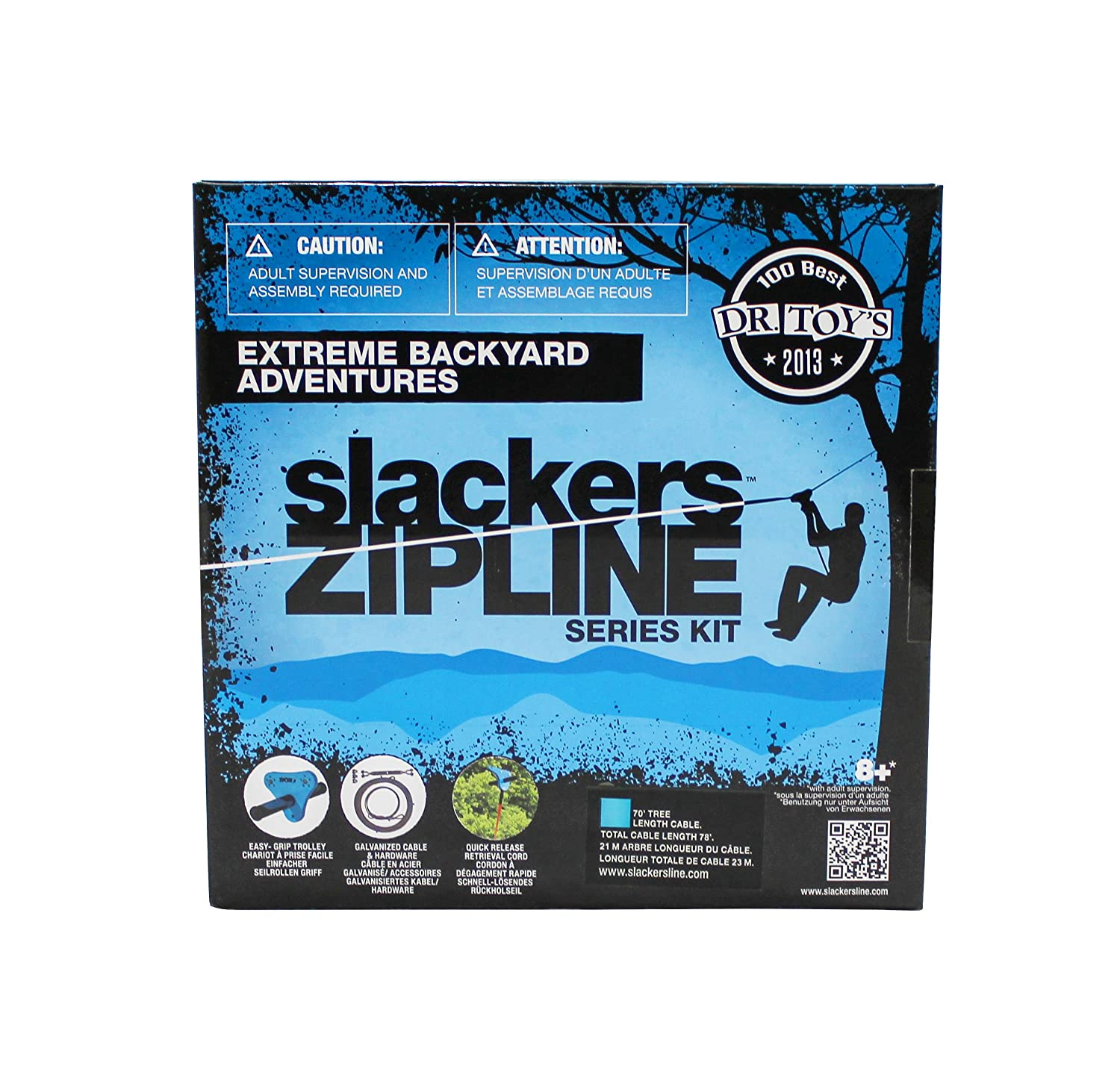 Slackers Value Series Zipline Kit