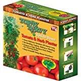 Topsy Turvy New & Improved Upside Down Tomato Planter - As Seen On TV (Topsy Turvy Deluxe)