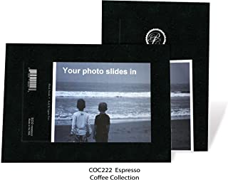"""product image for Photo Note Cards for 4"""" x 6"""" image 10 Pack with Envelopes Coffee Collection (Espresso)"""